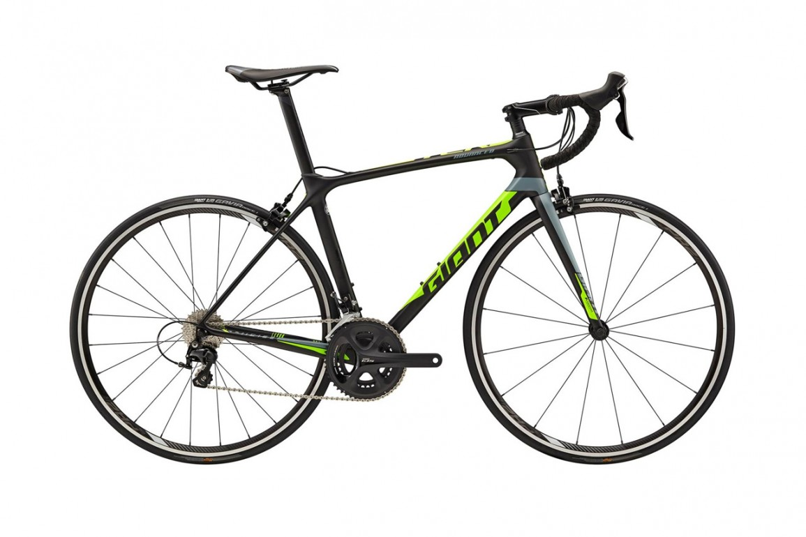 GIANT TCR Advanced 2 Carbon Green Gray