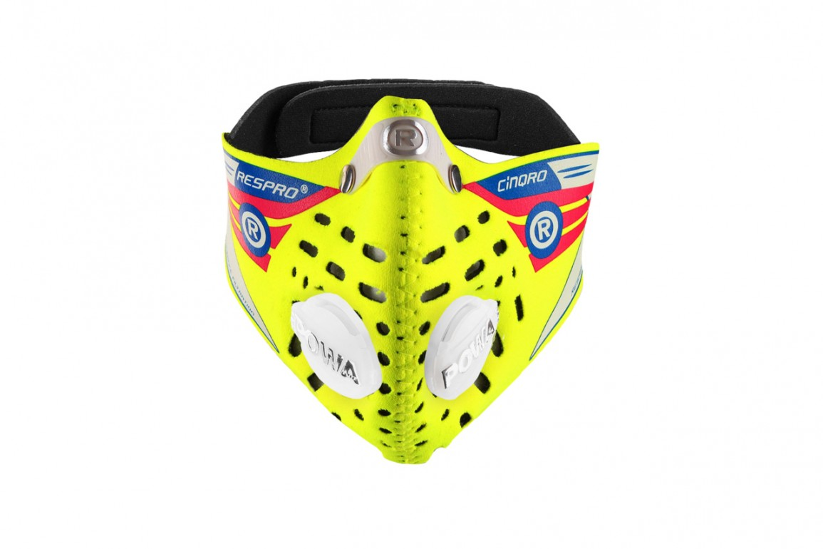 RESPRO maska przeciwsmogowa (przeciwpyłowa) Cinqro Yellow