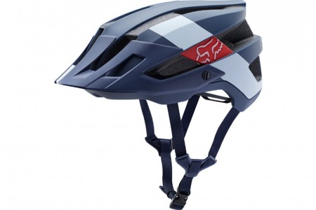 FOX kask Flux Red Bullle Navy White 2019