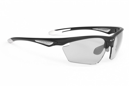 RUDY PROJECT okulary Stratofly Black gloss / White - ImpactX Photochromic 2 Black