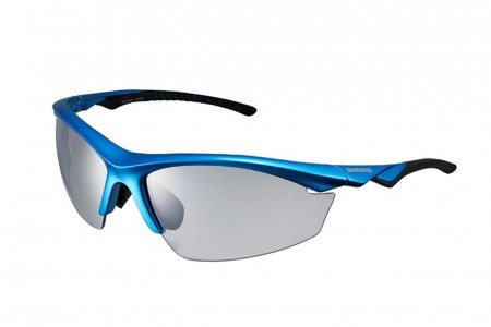 SHIMANO Okulary EQX2PH Metallic Blue Black