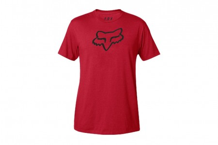 FOX koszulka Legacy Foxhead Dark red 2018