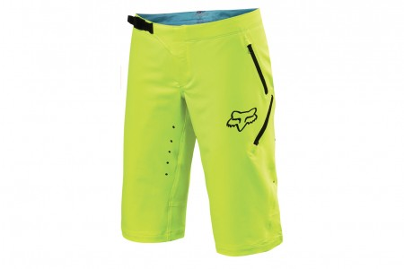 FOX Freeride Lady shorts Flo yellow