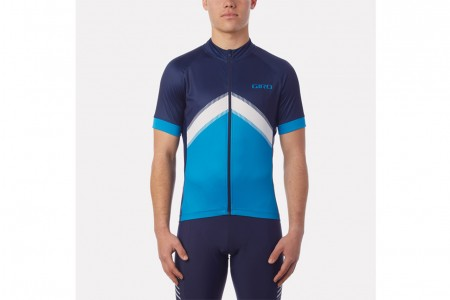 GIRO Chrono Sport Sublimated jersey Blue arrow