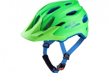 ALPINA kask Carapax JR Green-Blue 51-56 2019
