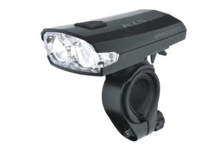 KELLYS lampka przednia akumulatorowa Index F Black