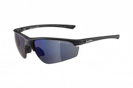 ALPINA okulary TRI-EFFECT 2.0 kolor BLACK MATT szkło BLUE MIRR Cat.3/CLEAR Cat.0/ORANGE MIRR Cat.2 2020