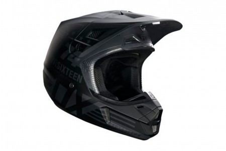 FOX V2 union kask Black