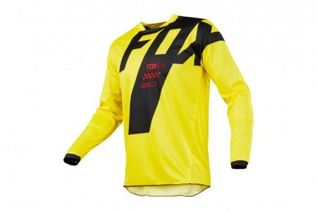 FOX 180 Mastar jersey Yellow