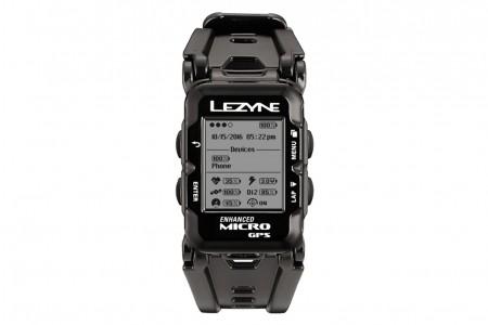 LEZYNE komputer rowerowy Micro GPS watch Black