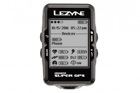 LEZYNE komputer rowerowy Super GPS