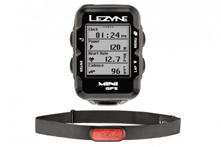 LEZYNE komputer rowerowy Mini GPS HR loaded
