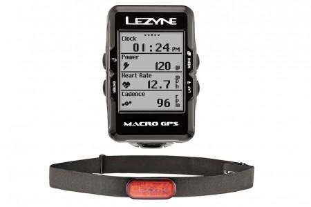 LEZYNE komputer rowerowy Macro GPS HR loaded