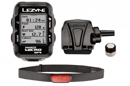 LEZYNE komputer rowerowy Micro GPS HRSC loaded