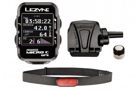 LEZYNE komputer rowerowy Micro Color GPS HRSC loaded