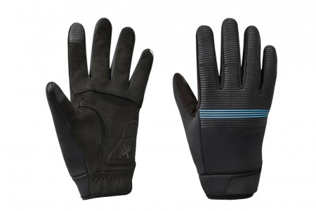 SHIMANO rękawice zimowe Windbreak Therm Ref Black Blue