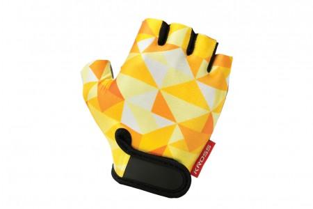 KROSS Buzz rękawiczki Yellow White