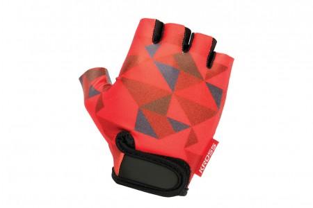 KROSS Buzz rękawiczki Red Grey