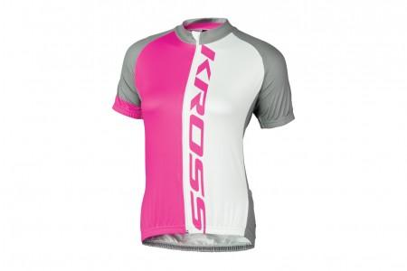 KROSS koszulka Flow Lady Pink
