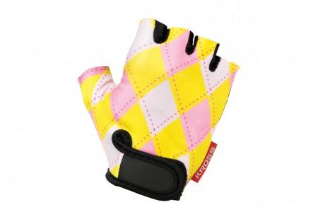 KROSS Joy rękawiczki Yellow Pink