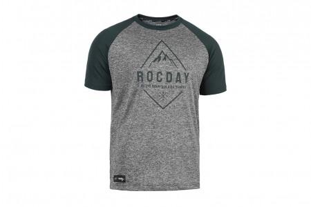 Koszulka ROCDAY Peak Green