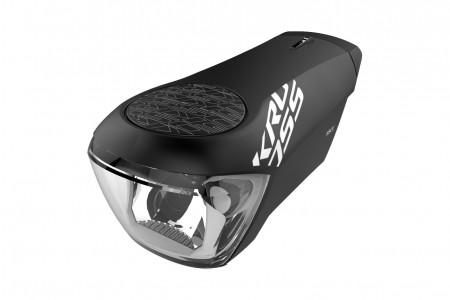 KROSS lampka przednia Race Black