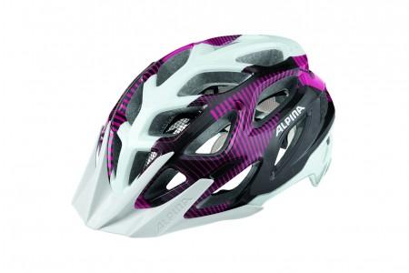 ALPINA kask Mythos 3.0 White Purple Titanium