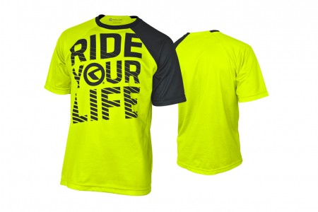 Koszulka KELLYS RIDE YOUR LIFE krótki rękaw lime