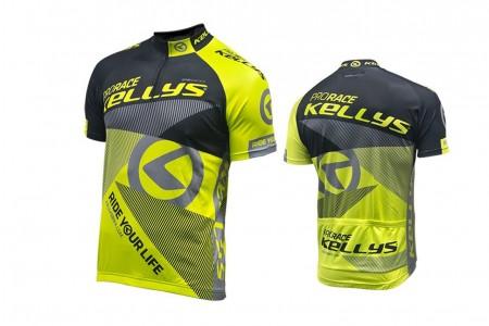 Koszulka KELLYS Pro Race krótki rękaw Lime