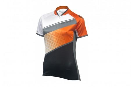 Koszulka KELLYS Jody krótki rękaw Orange Grey