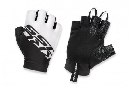 KROSS Race Short 2.0 rękawiczki White