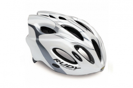 RP kask Snuggy White Silver