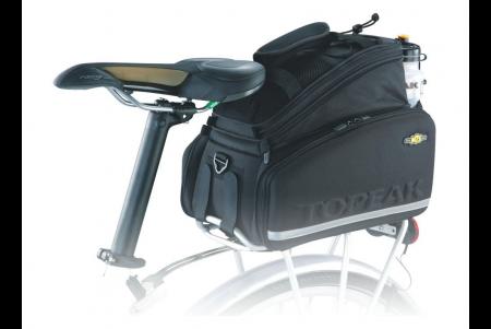 TOPEAK torba tylna trunk bag DXP strap ( z bokami-mocowania paski)