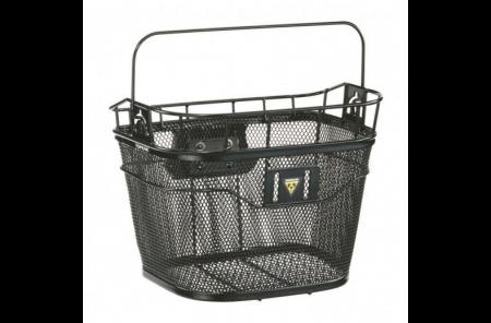 TOPEAK koszyk na kierownice basket front czarny (e-bike kompatybilny)