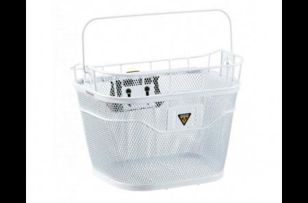 TOPEAK koszyk na kierownicę biały (kompatybilny z e-bike)