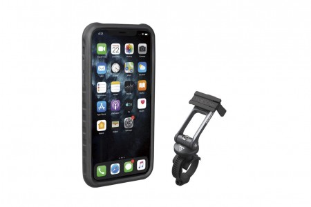 TOPEAK POKROWIEC RIDECASE FOR iPHONE 11 PRO BLACK/GRAY