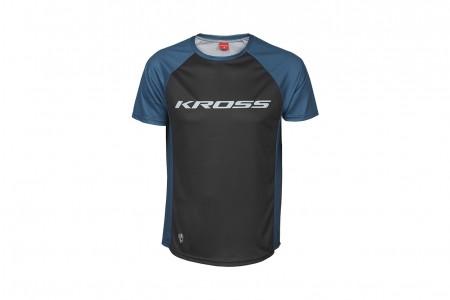 KROSS Koszulka HYDE SHORT SLEEVE Blue 2020