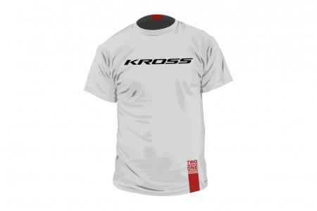 KROSS koszulka Kross Tee White