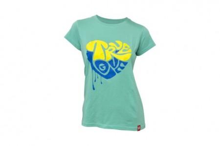 Koszulka KELLYS Women´s True Love krótki rękaw Turquoise