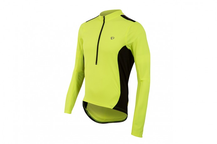 PEARL IZUMI Koszulka Select Quest D/R Screaming Yellow/Blac