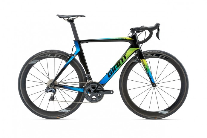GIANT Propel Advanced Pro 0 Carbon Black Green