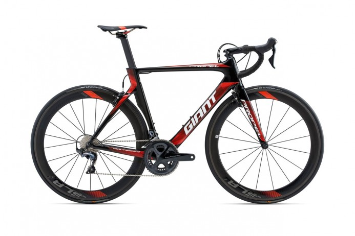 GIANT Propel Advanced Pro 1 Carbon Red White