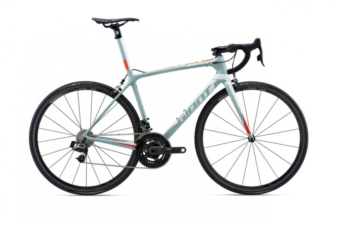 GIANT TCR Advanced SL 0 Gray Red White