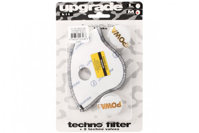 RESPRO Filtr Upgrade Kit Powa Elite Clear gold
