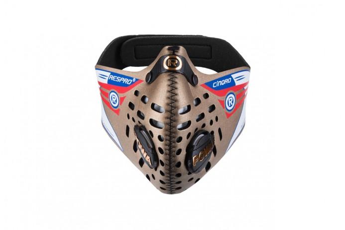 RESPRO maska przeciwsmogowa (przeciwpyłowa) Cinqro Gold