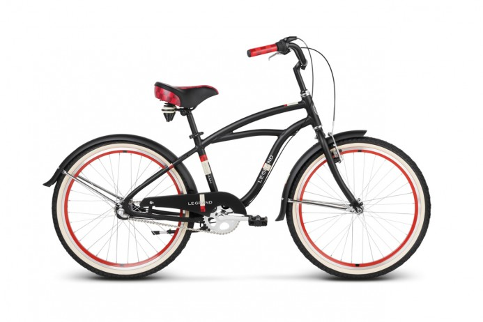 "LE GRAND Bowman Jr koło 24"" Black Red"