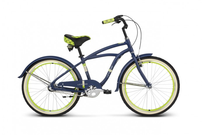 "LE GRAND Bowman Jr koło 24"" Navy Lime"
