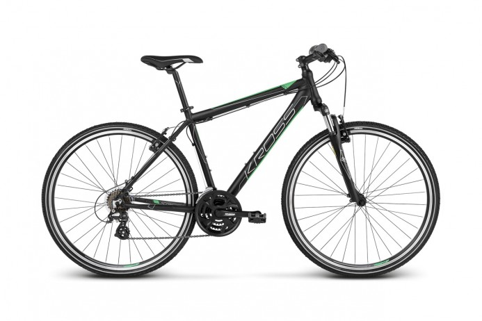 "KROSS Evado 2.0 koło 28"" Black Green"