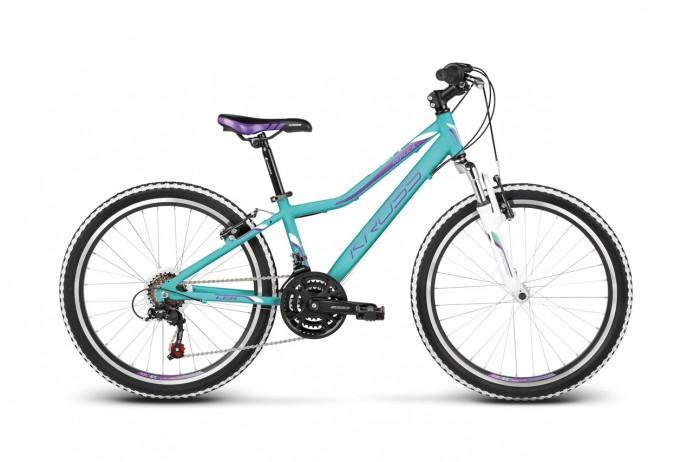 """KROSS Lea Replica koło 24"""" Turquoise Purple"""