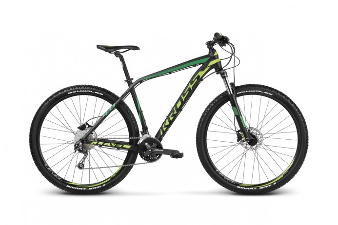 "KROSS Level 4.0 koło 29"" Black Green"
